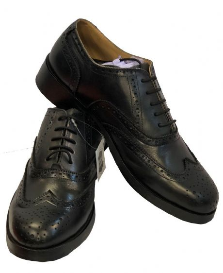 Quality leather brogues for pipers, pipes and drums bands formal or casual day wear.